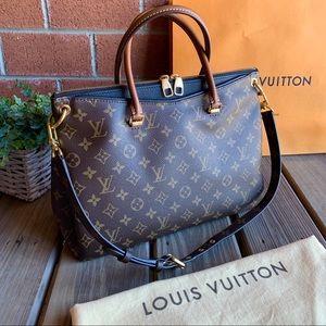Louis Vuitton Bags - Louis Vuitton Pallas Noir Monogram Canvas Tote Bag